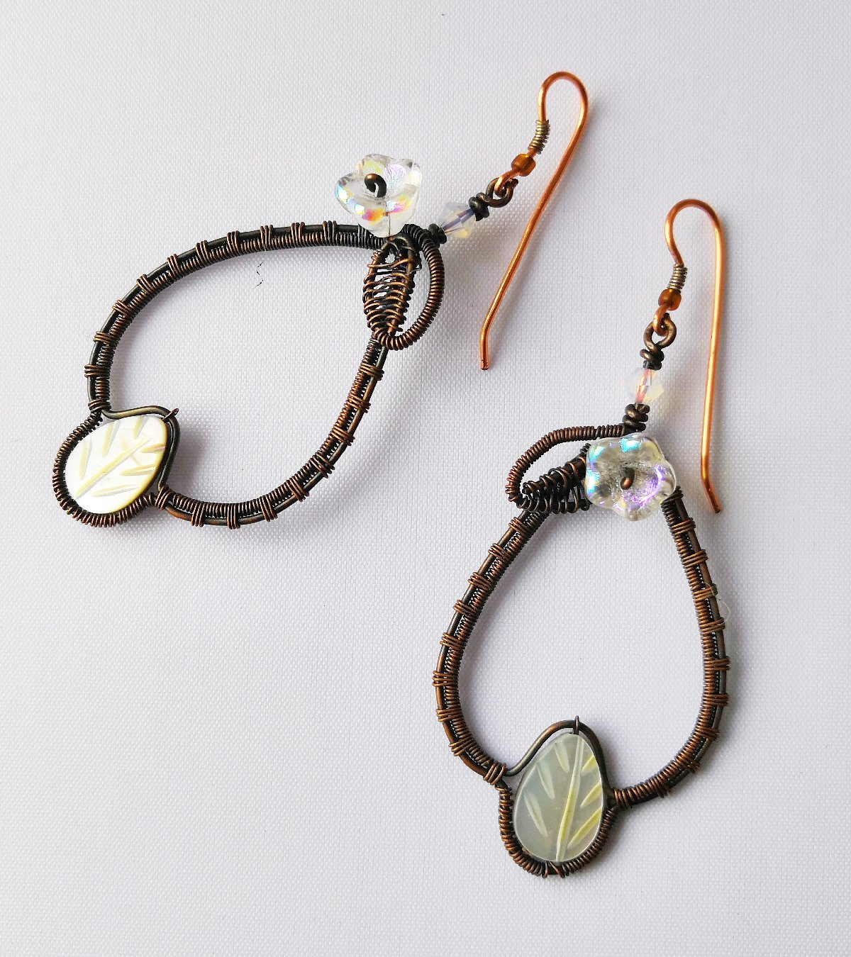 Evensong drop earrings