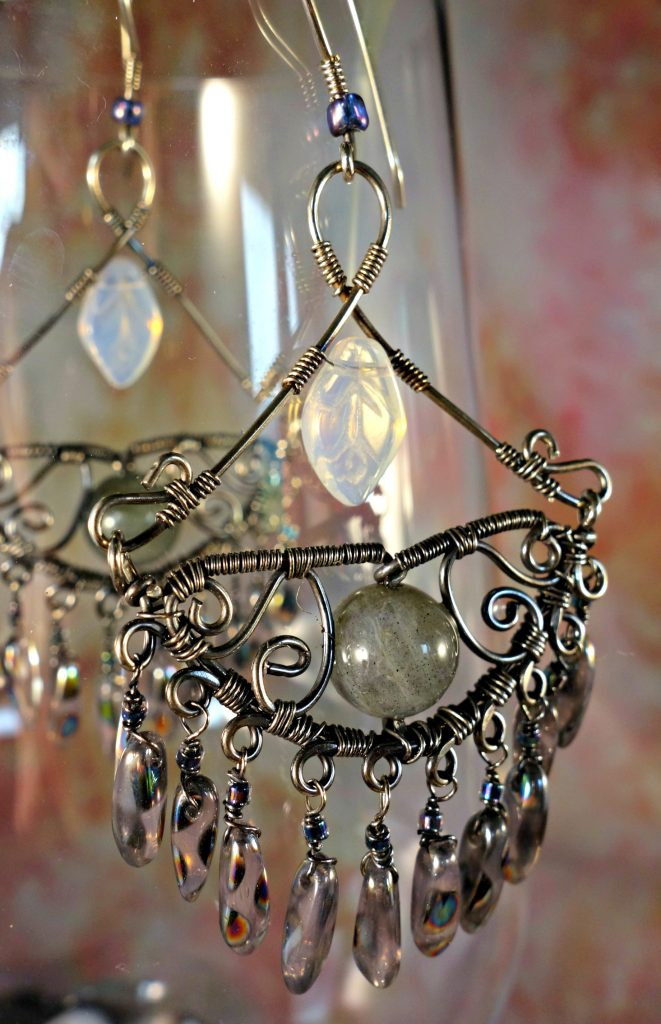 Charming Chandelier Drop Earrings