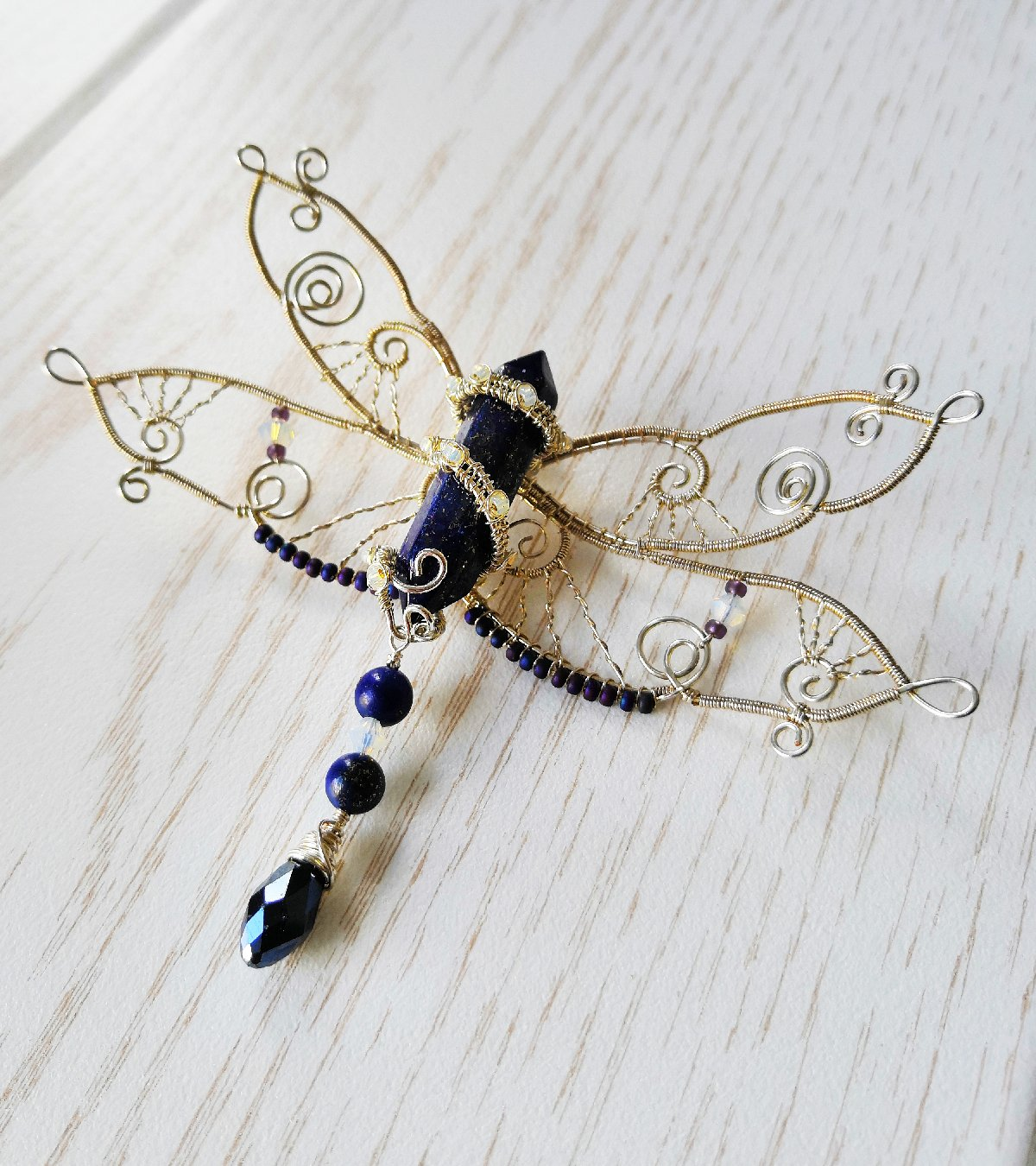 Astrid wire wrapped dragonfly