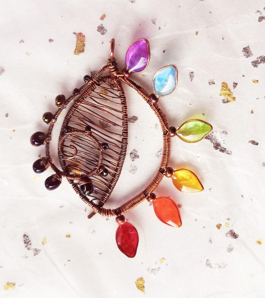 rainbow-leaf-pendant