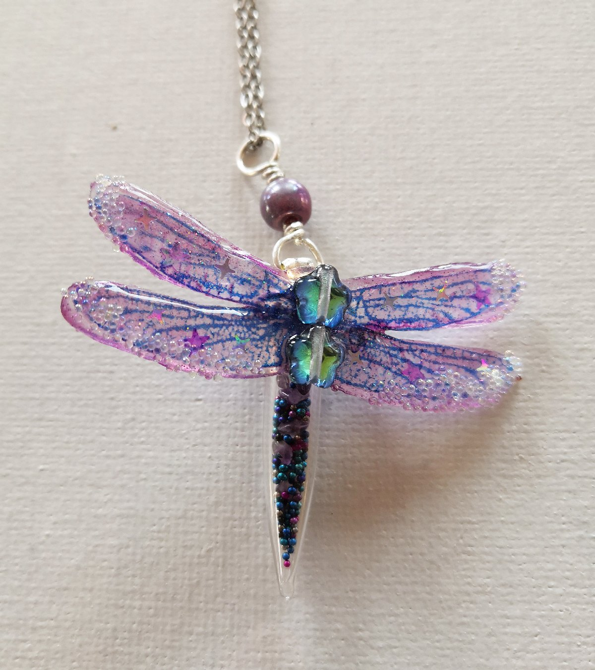 amethyst dragonfly
